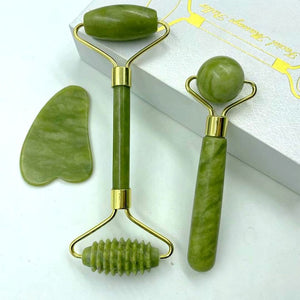 Jade Roller Massager for Face Skin Care Tools
