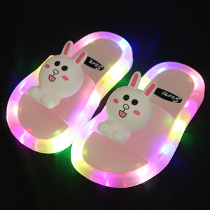 s Children LED  Kids Slippers