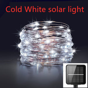 LED Outdoor Solar String Lights