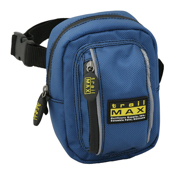 TrailMax 500 Series Front Pocket Western Saddlebags Blue