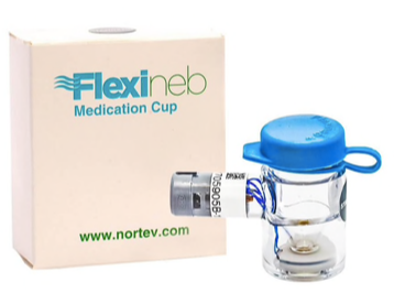 Flexineb 2 Medication Cup - Standard Grey