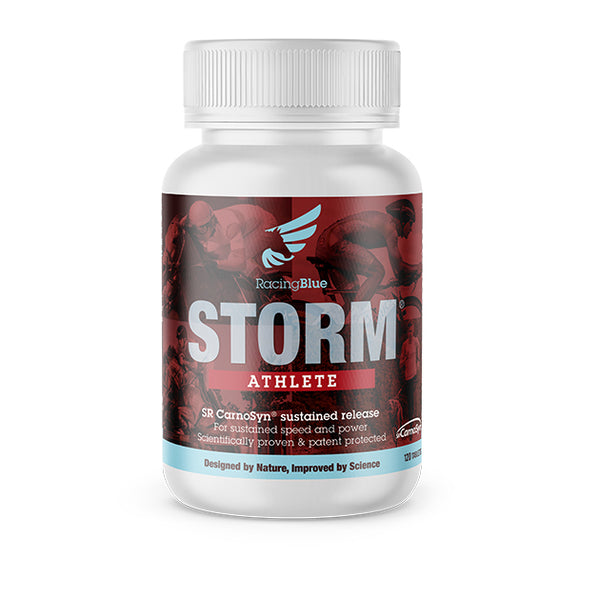 Storm® Athlete - Increases buffering in muscles, aids training and improves performance in competition