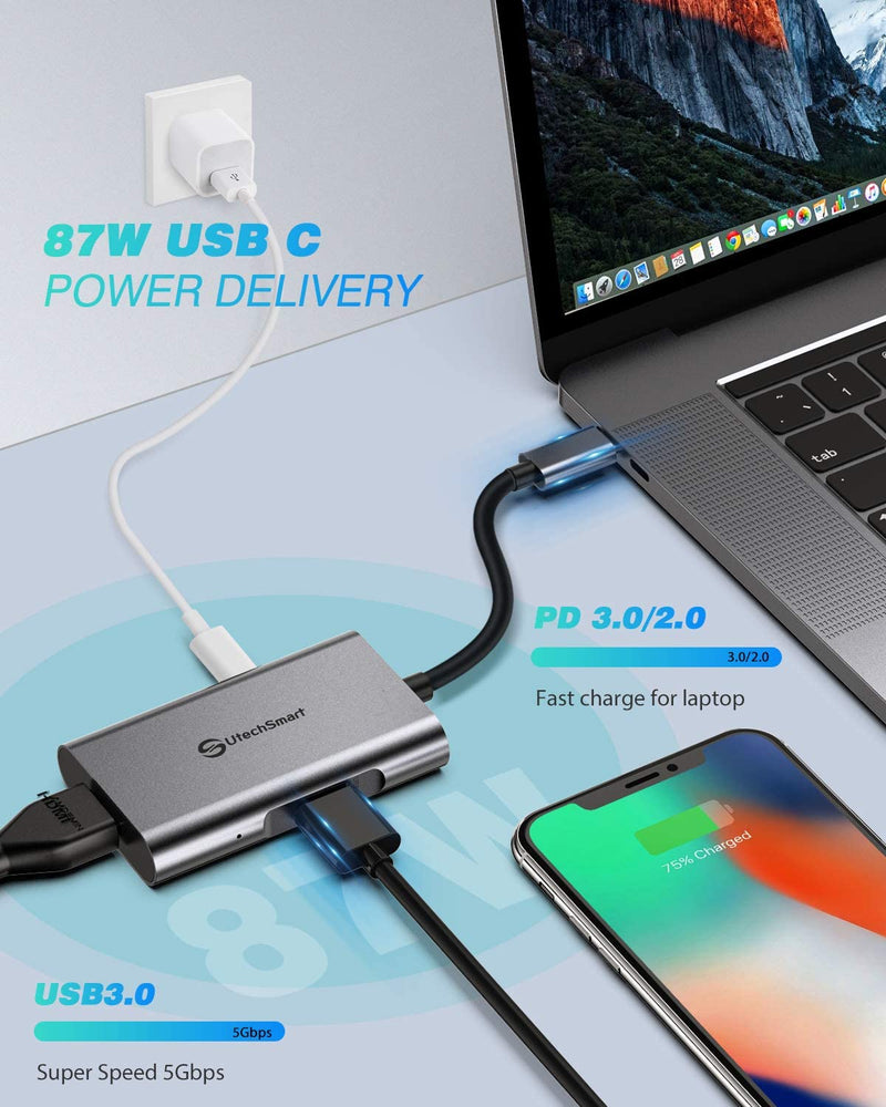 USB C to HDMI Adapter – Fix Your Connection Problems with the C to the H | USB Chub