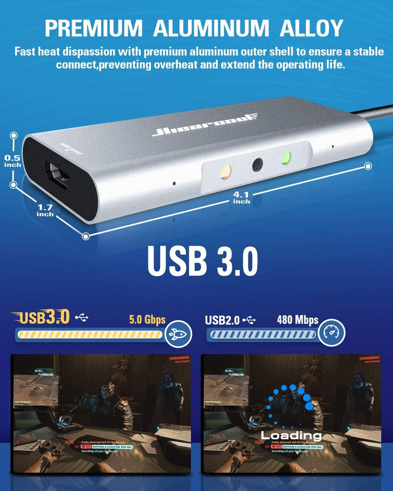 Video Capture Card for Instant Streaming & Recording