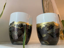 Load image into Gallery viewer, 18k Black Onyx Mug Set