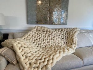 7lb Pure Merino Wool Throw