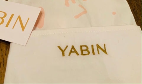 Name Embroidered in logo