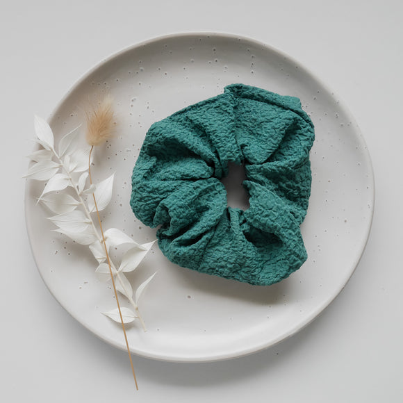 Scrunchie - teal crunch
