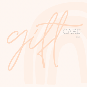 Evie Loves May - Gift Card