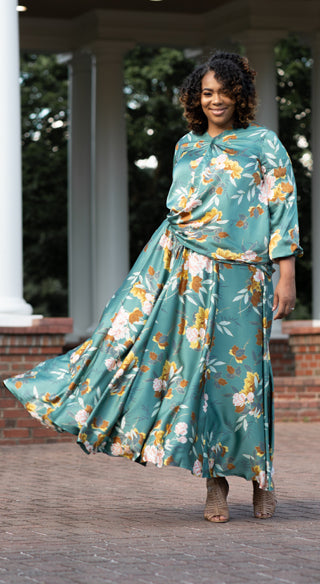 Dahlia Circle Skirt - Styled by Zubaidah