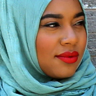 Bold Lip Makeup Look - Styled by Zubaidah