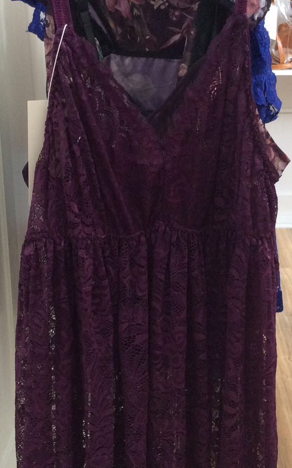Purple Lace Nightie - Styled by Zubaidah
