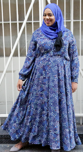 Enchanting Floral Lynn dress - Styled by Zubaidah