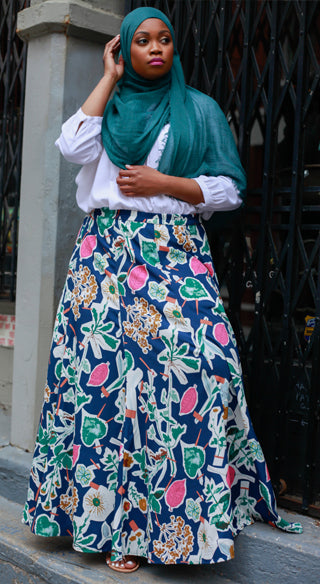 Circle Skirt - Styled by Zubaidah
