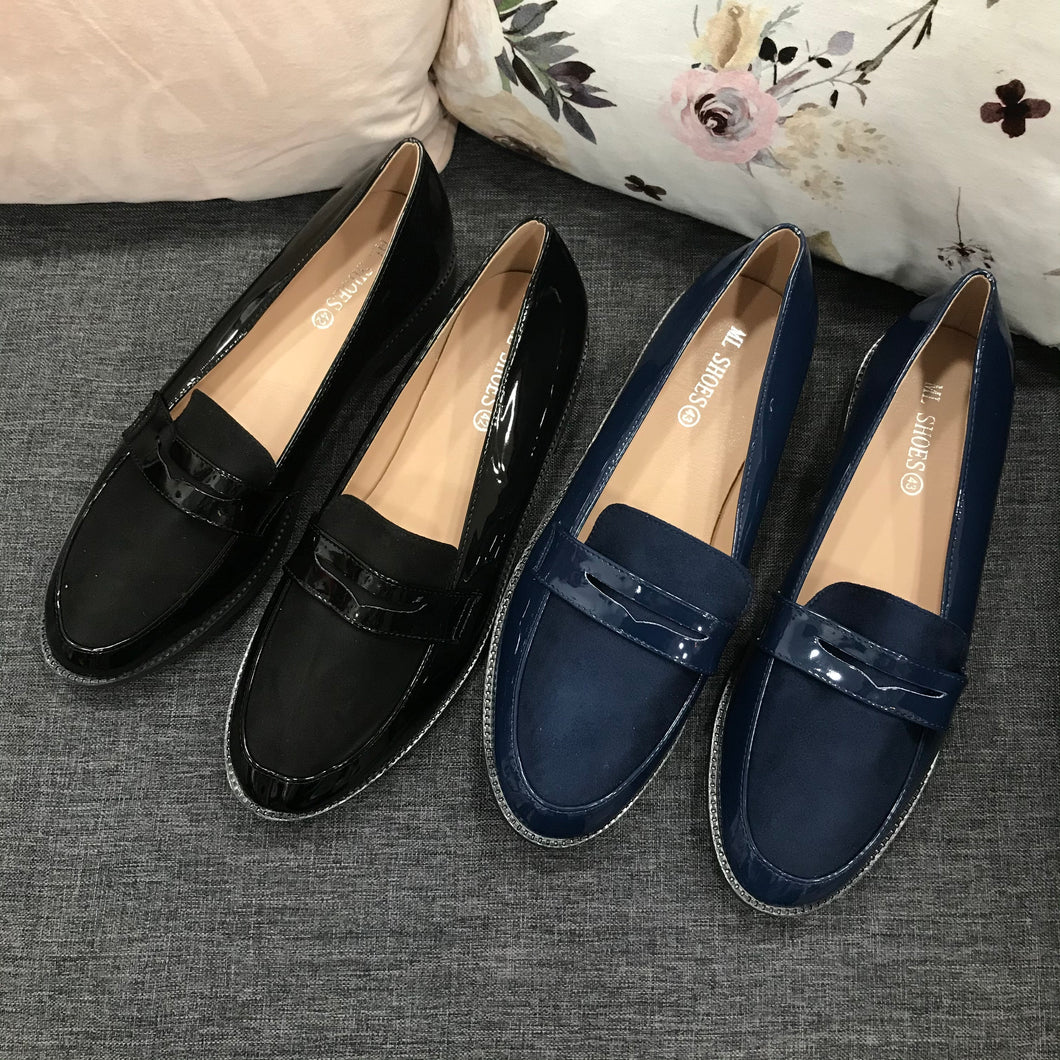 Larger Size Patent Loafer