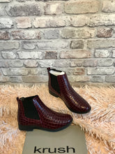 Load image into Gallery viewer, Patent Croc Chelsea Boot