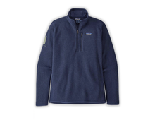 Load image into Gallery viewer, 1 Hotels Navy Quarter Zip Patagonia