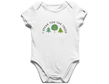 Load image into Gallery viewer, I Speak For The Trees Onesie