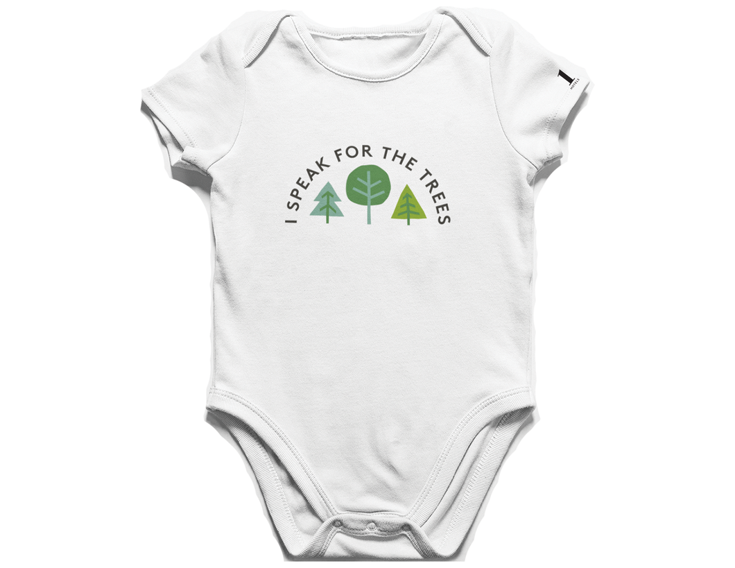 I Speak For The Trees Onesie