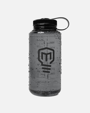 Logo 32 oz Wide Mouth Nalgene - Black