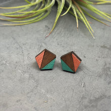 Load image into Gallery viewer, Retro Pentagon Studs V