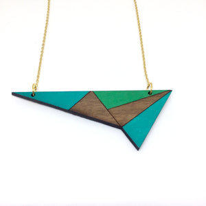 Turquoise Lightning Necklace