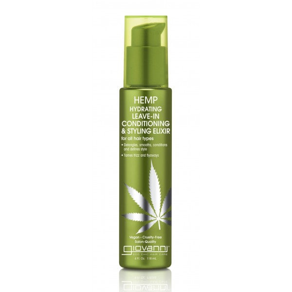 Giovanni - Hemp Hydrating Leave-In Conditining & Styling Elixir 118 ml