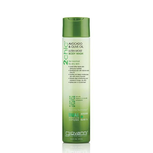 Giovanni Cosmetics - 2chic®  - Ultra-Moist Body Wash with Avocado & Olive Oil