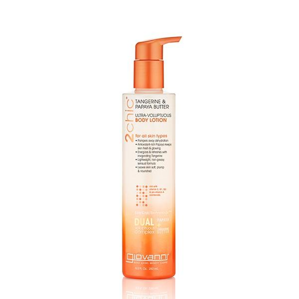 Giovanni Cosmetics - 2chic® - Ultra-Voluptuous Body Lotion with Tangerine & Papaya Butter 250 ml