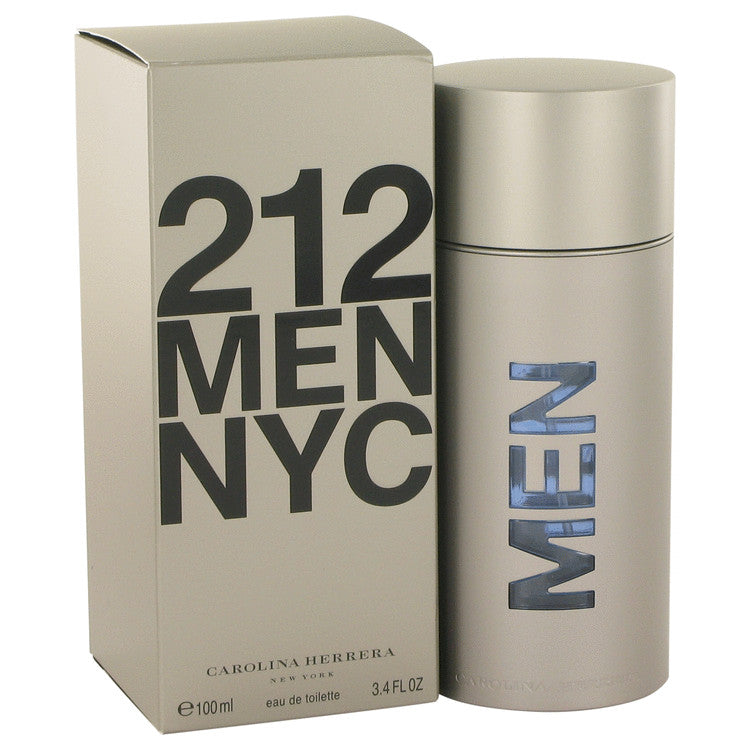 212 by Carolina Herrera Eau De Toilette Spray (New Packaging) 3.4 oz for Men-Beauty & Fragrance-American Fragrance SHOP®