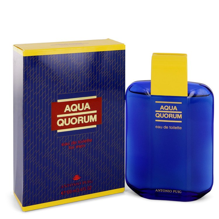AQUA QUORUM by Antonio Puig Eau De Toilette 3.4 oz for Men-Fragrances for Men-American Fragrance SHOP®