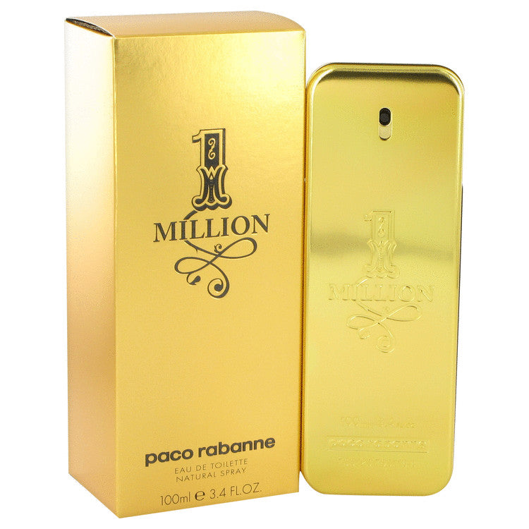 1 Million by Paco Rabanne Eau De Toilette Spray 3.4 oz for Men-Beauty & Fragrance-American Fragrance SHOP®
