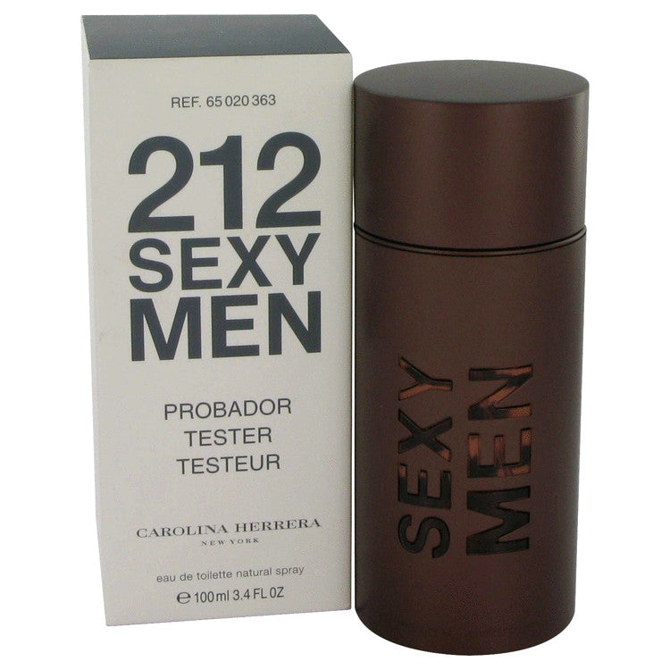 212 Sexy by Carolina Herrera Eau De Toilette Spray (Tester) 3.3 oz for Men-Fragrances for Men-American Fragrance SHOP®