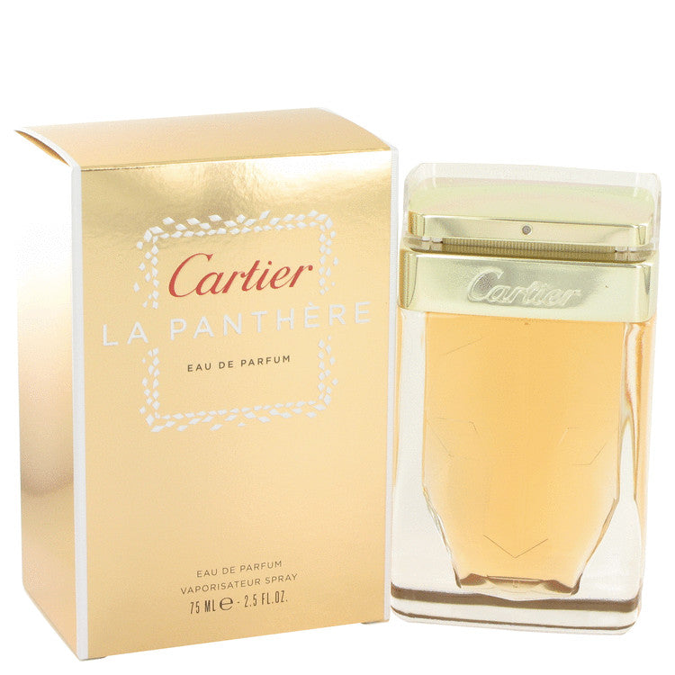 Cartier La Panthere by Cartier Eau De Parfum Spray 2.5 oz for Women-Fragrances for Women-American Fragrance SHOP®