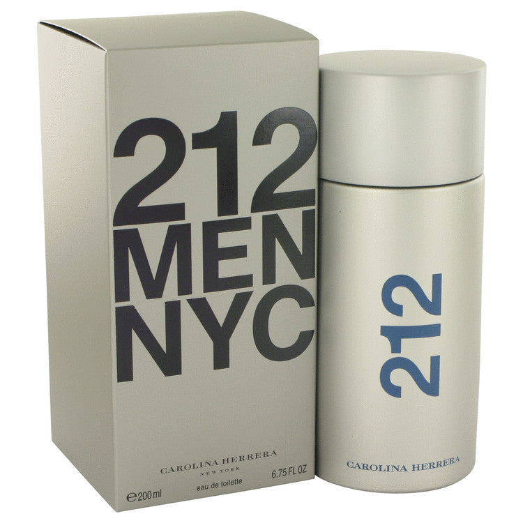 212 by Carolina Herrera Eau De Toilette Spray 6.8 oz for Men-Beauty & Fragrance-American Fragrance SHOP®