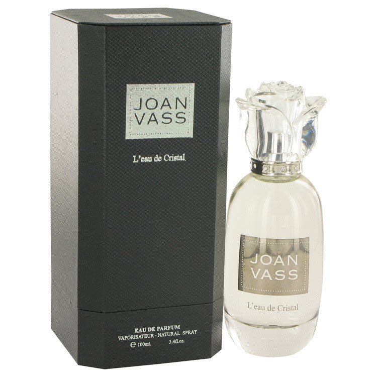 L'eau De Cristal by Joan Vass Eau De Parfum Spray 3.4 oz for Women-Fragrances for Women-American Fragrance SHOP®