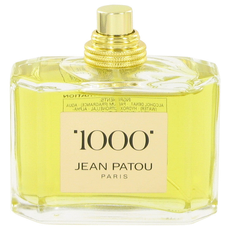 1000 by Jean Patou Eau De Parfum Spray (Tester) 2.5 oz for Women-Beauty & Fragrance-American Fragrance SHOP®