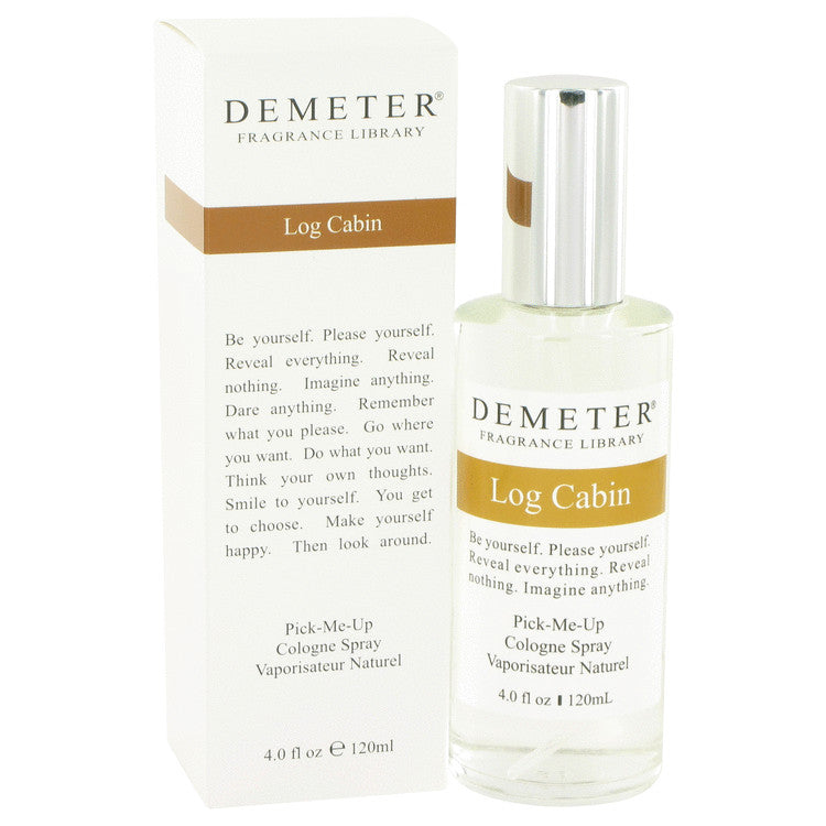 Demeter Log Cabin by Demeter Cologne Spray 4 oz for Women-Fragrances for Women-American Fragrance SHOP®