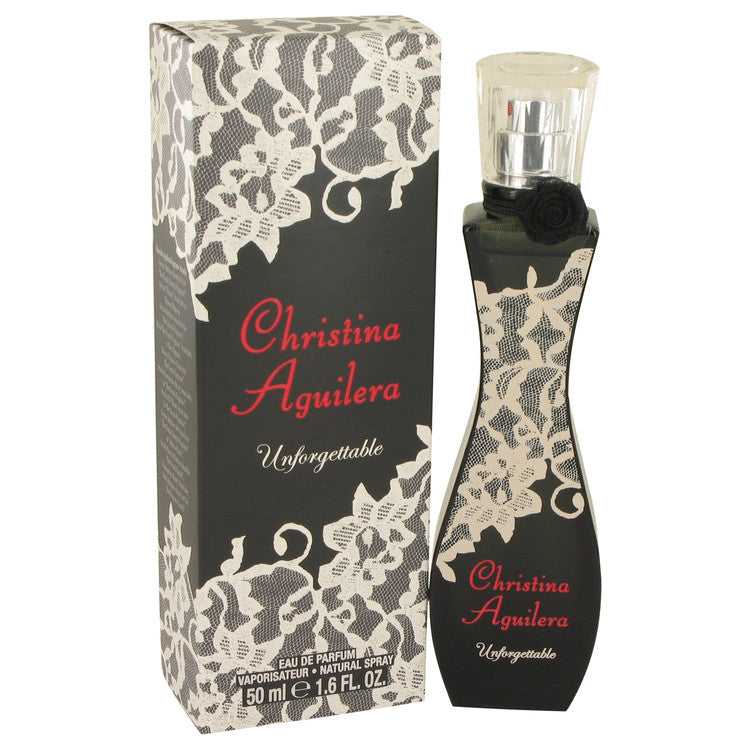 Christina Aguilera Unforgettable by Christina Aguilera Eau De Parfum Spray 1.7 oz for Women-Fragrances for Women-American Fragrance SHOP®