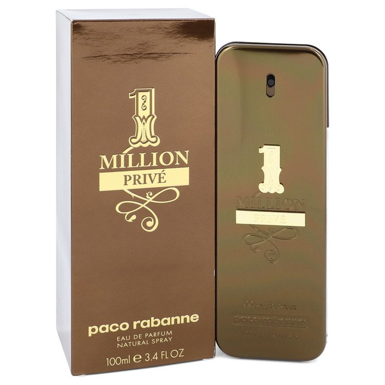 1 Million Prive by Paco Rabanne Eau De Parfum Spray 3.4 oz for Men-Fragrances for Men-American Fragrance SHOP®