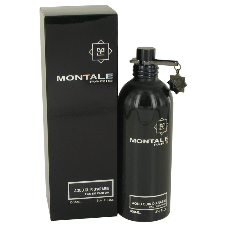 Montale Aoud Cuir D'arabie by Montale Eau De Parfum Spray (Unisex) 3.4 oz for Women-Fragrances for Women-American Fragrance SHOP®