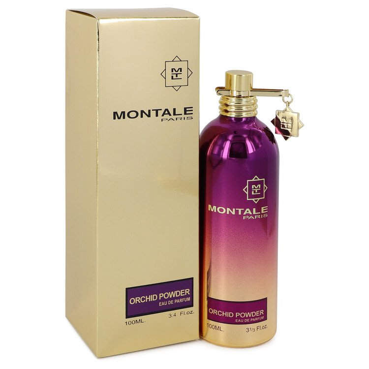 Montale Orchid Powder by Montale Eau De Parfum Spray (Unisex) 3.4 oz for Women-Fragrances for Women-American Fragrance SHOP®