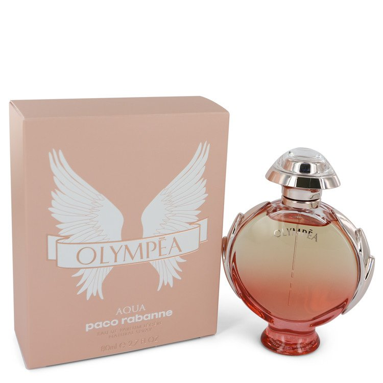 Olympea Aqua by Paco Rabanne Eau De Parfum Legree Spray 2.7 oz for Women-Fragrances for Women-American Fragrance SHOP®