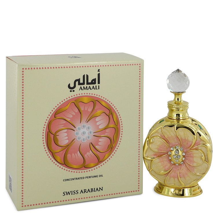 Swiss Arabian Amaali by Swiss Arabian Concentrated Perfume Oil 0.5 oz for Women-General-American Fragrance SHOP®