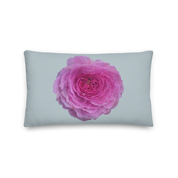 The Audrey Rose - Chalk Grey - Premium Pillow-Tiny Potager-20×12-Tiny Potager
