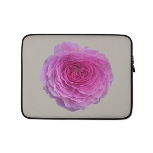 The Audrey Rose - French Grey - Laptop Sleeve-Tiny Potager-13 in-Tiny Potager