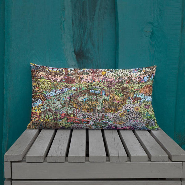 Autumn Garden - Premium Pillow-Tiny Potager-Tiny Potager