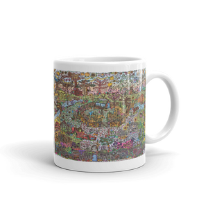 Autumn Garden - Ceramic Mug-Tiny Potager-Tiny Potager