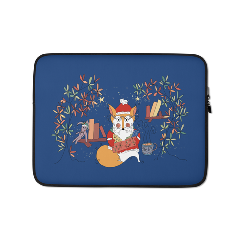 Mister Meadowson as Santa - Laptop Sleeve-Tiny Potager-13 in-Tiny Potager