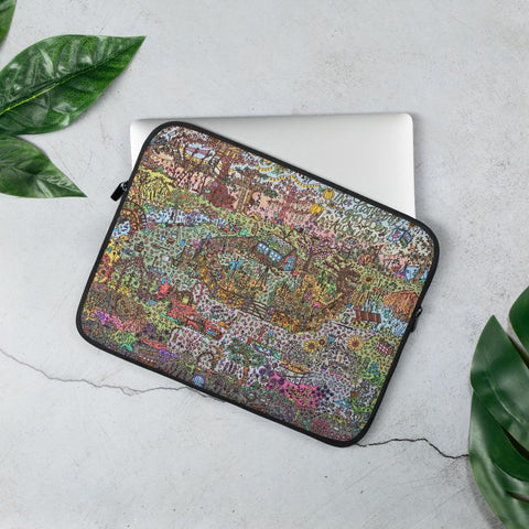 Autumn Garden - Laptop Sleeve-Tiny Potager-13 in-Tiny Potager